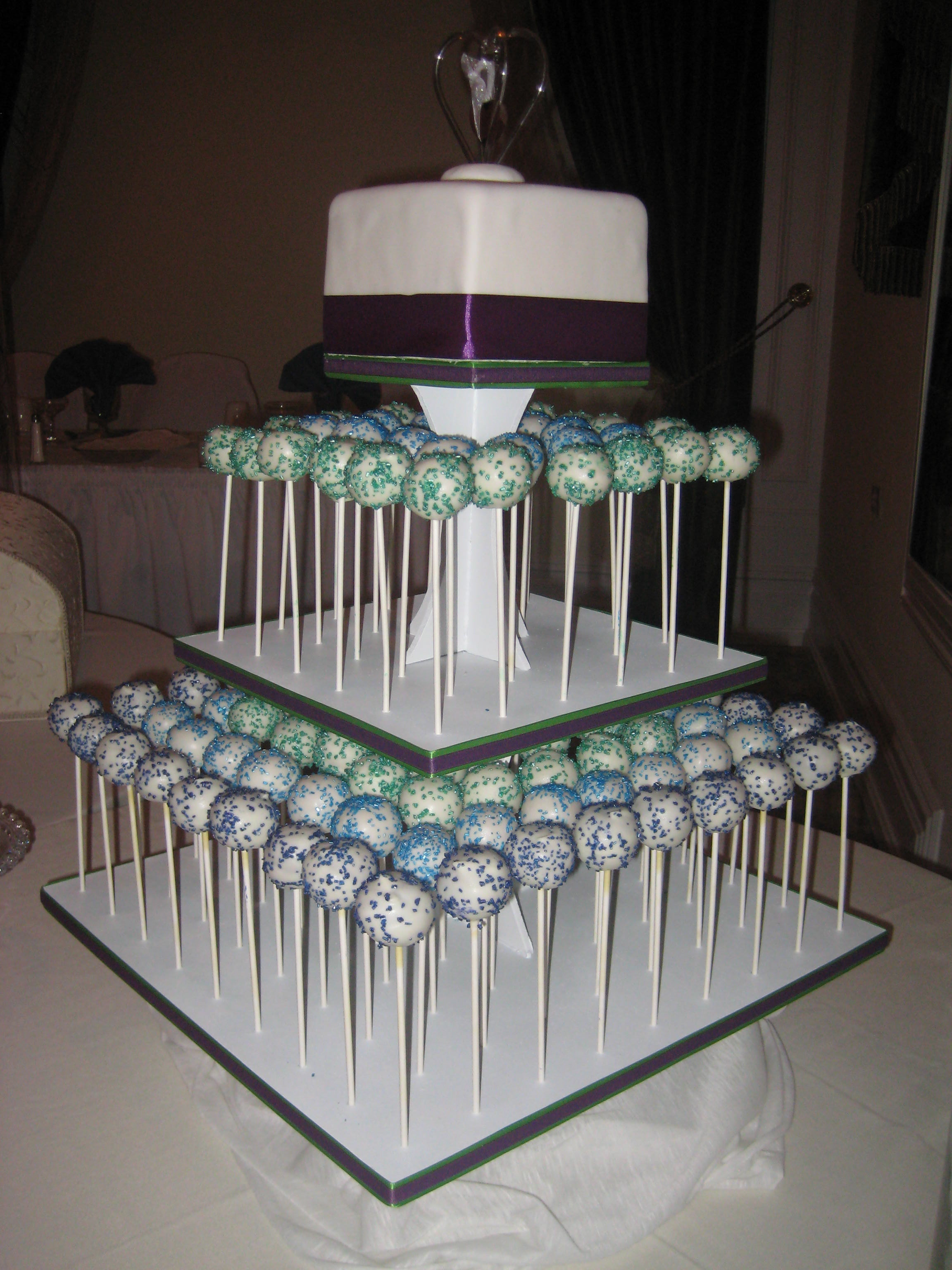 Not My First Cake Pop But Wedding It Was For Good Friends Kim And Randy So I Knew They Couldnt Hate Me If Didnt Come