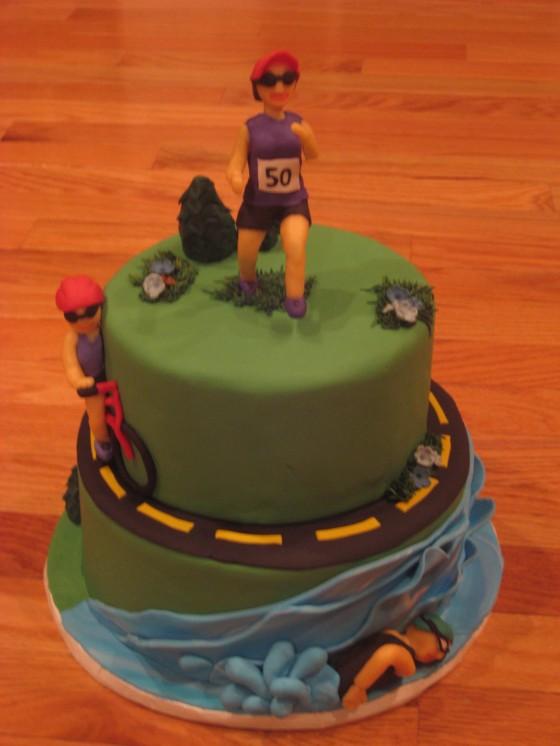 Runner Cake Topper