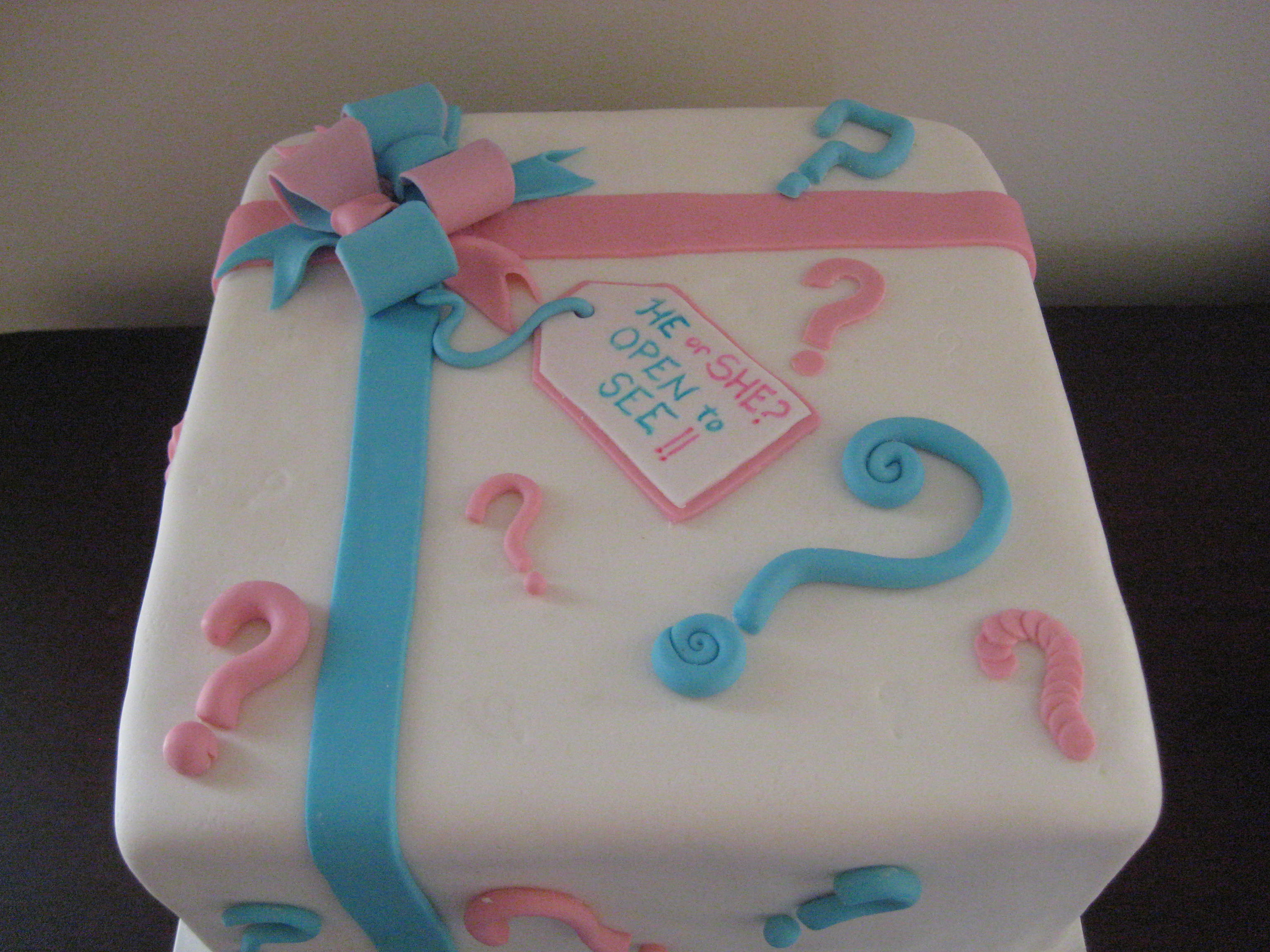 Gender Reveal Cake Ideas For Twins