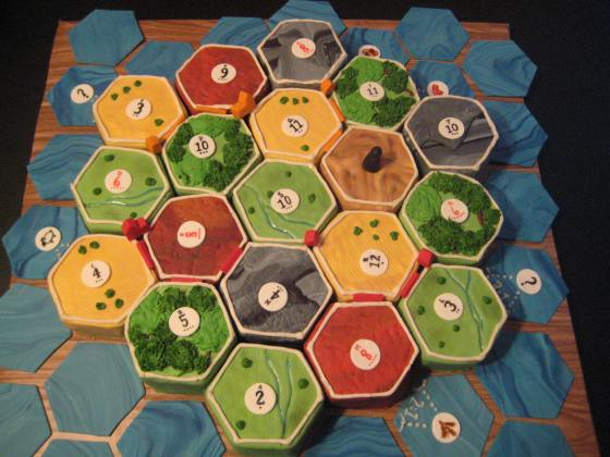 settlers of catan cake 2