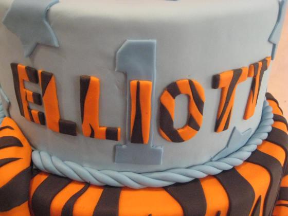 Tigger cake2