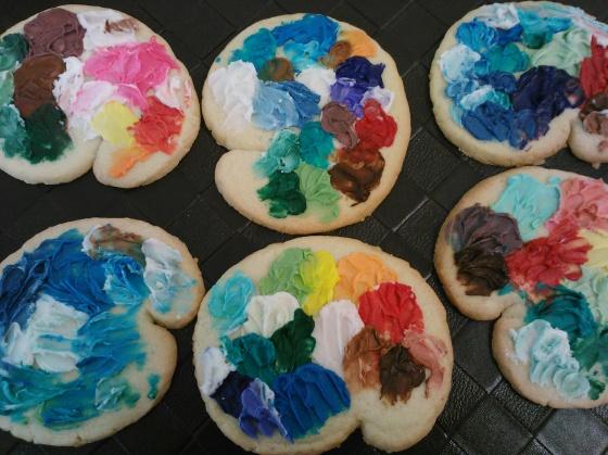 Palatte cookies