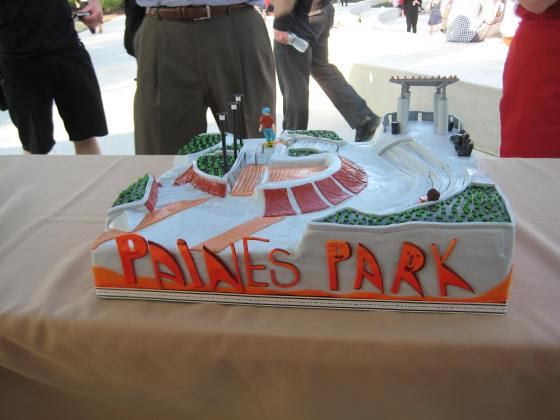Paines Park Cake