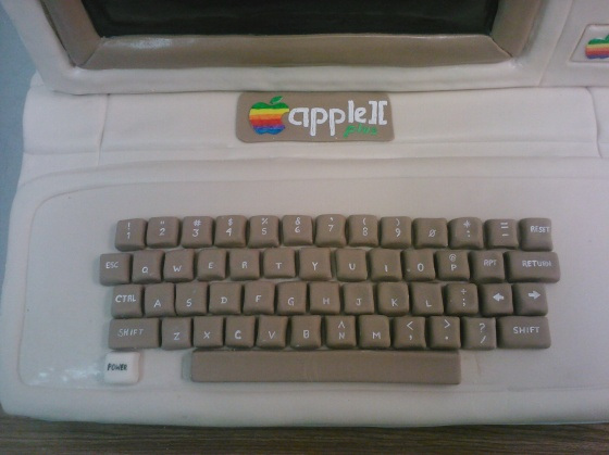 Mac cake keyboard
