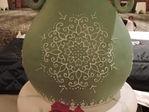Handpiped Vase