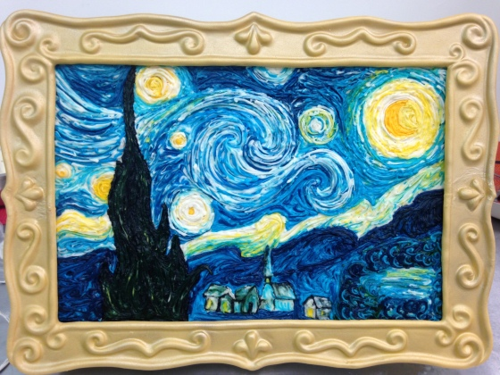 VanGogh Cake with frame