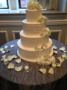 Paisley Wedding cake2