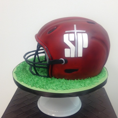 St Joes Prep football cake